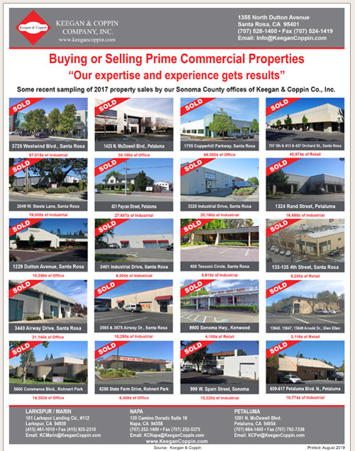 Keegan and Coppin sold properties flier