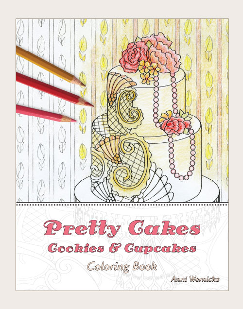 Pretty Cakes Coloring Book For Adults Hans Herb Law Firm Website Design